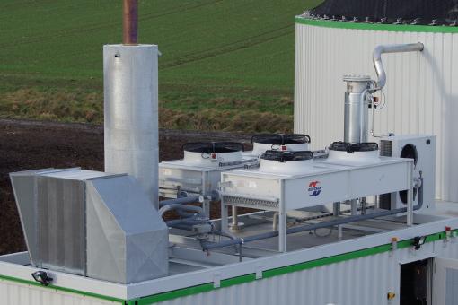 bhkw container Konzept-Energie