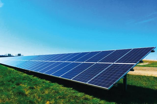 Einsmanlösungen für Hybridparks Konzept-Energie